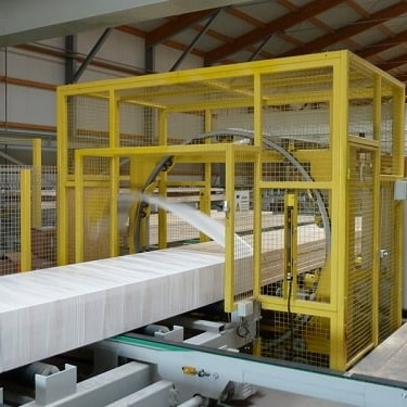 horizontal shrink wrapping machine