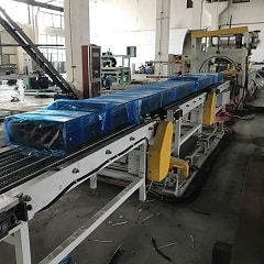 horizontal pallet wrapping machine