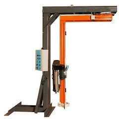 <strong>Semiauto Rotary Arm stretch Wrapping machine R100</strong>