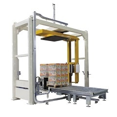 <strong>Rotary arm stretch wrapping machine RAS200</strong>