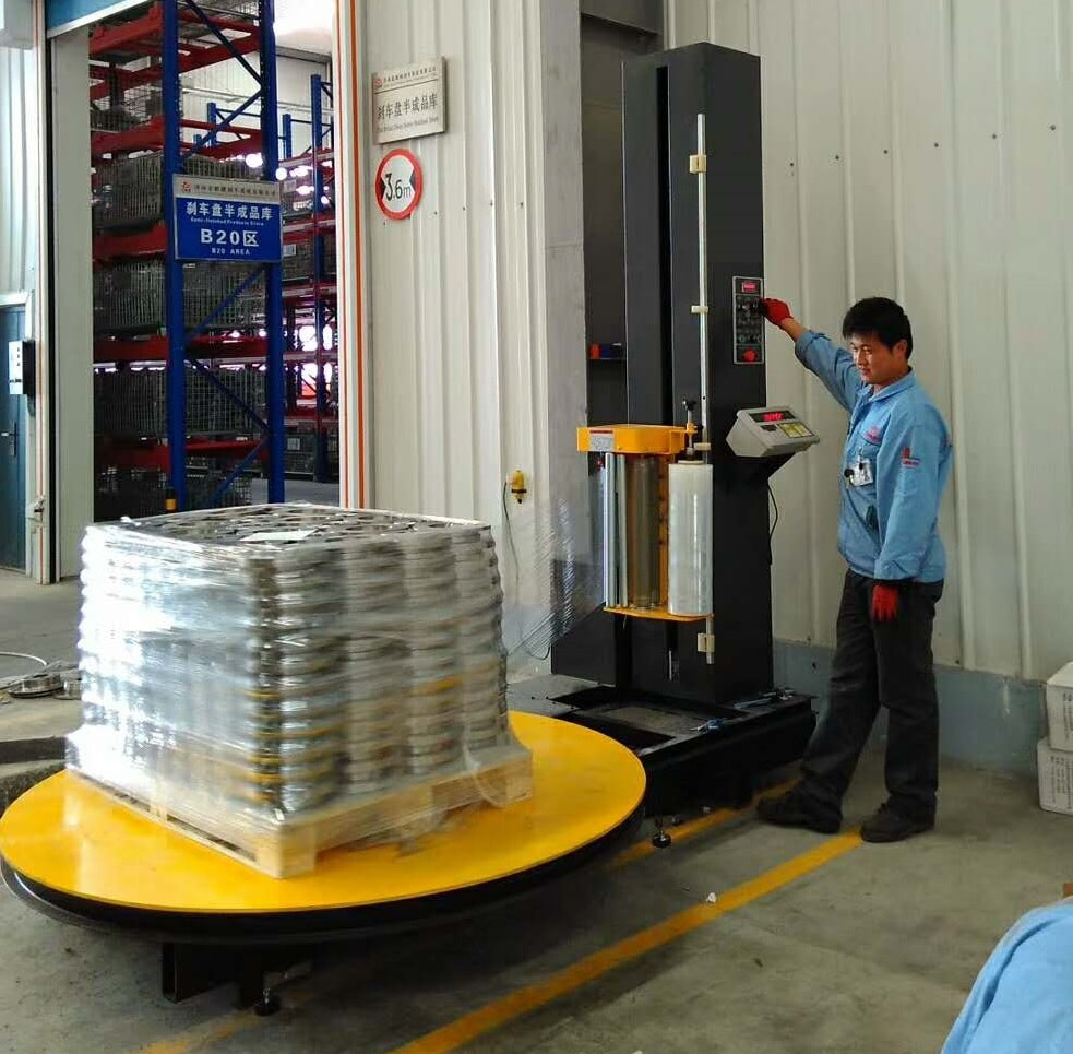 Pallet Stretch Wrapping Machine with scale