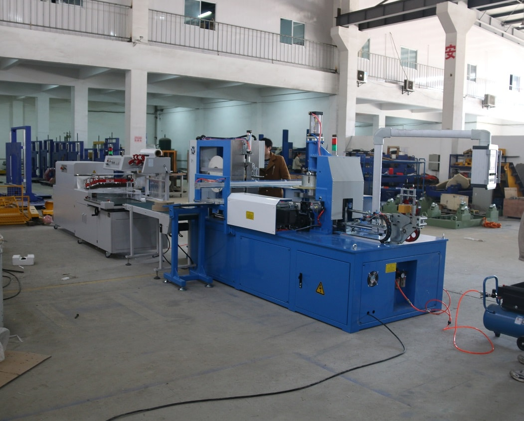 Cable Automatic winding and Shrinking Machine