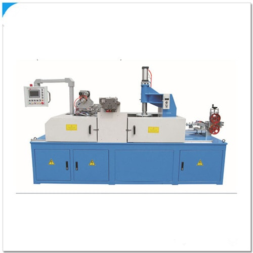 Automatic Cable coiling and wrapping machine