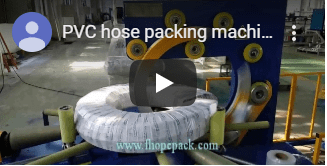 plastic pipe packingmachine video