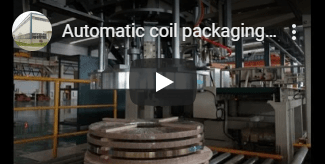 coil packing line video
