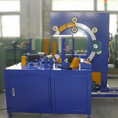 Horizontal hose coil wrapping machine FPCA-200