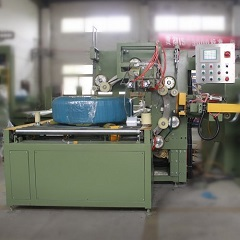 Horizontal hose coil wrapping machine FPCA-300