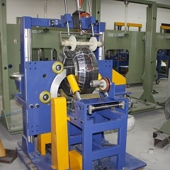 Corrugated hose stretch wrapping machine FPS-200H