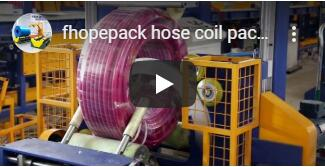 hose coil vertical wrapping video