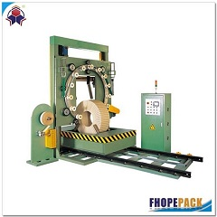Steel coil wrapping machine FPS-600