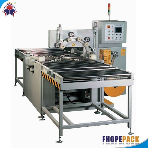 Horizontal steel coil packing machine FPCA-1000