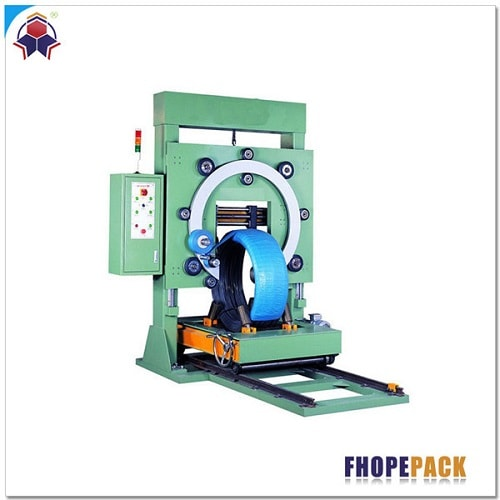 Wire coil wrapping machine-FPW-500