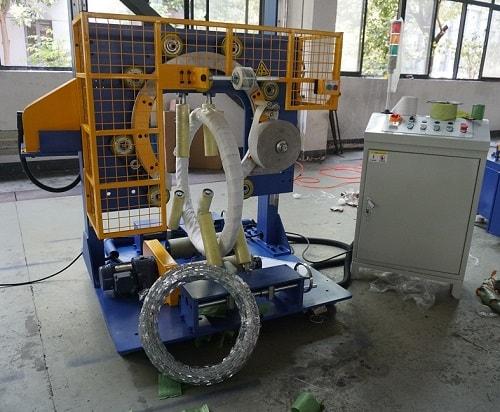 razor wire wrapping machine-FPW300-W