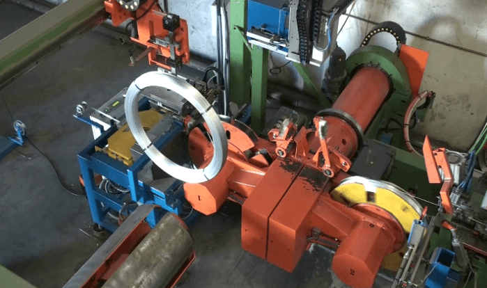 automatic wire coiler and strapping machine-FPCL-W800
