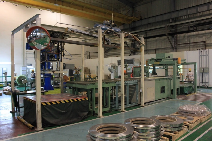 Copper Coil Packaging line
