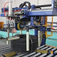 Hose Coil Packaging line