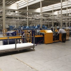 Automatic pipe bundle making and banding packing machine