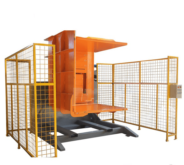 Pallet tipper| Pallet flipper | single clamper