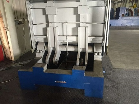 hydraulic upender's cylinder