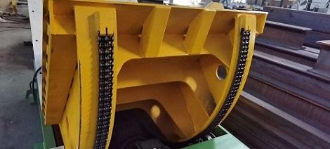 Mechanical tilter structure