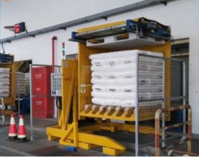 Automatic coil packaging line