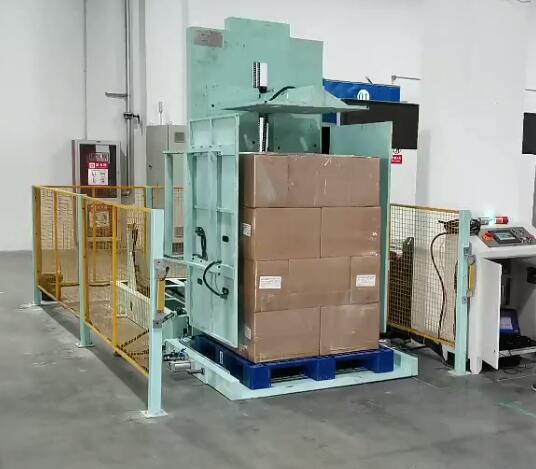 pallet changing machine