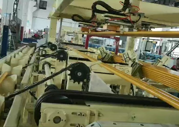 steel tube bundle packing line