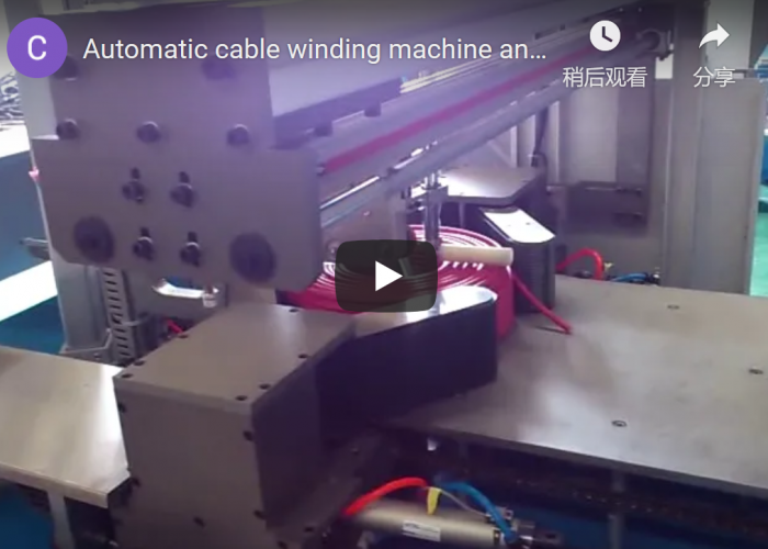 Automatic coiling machine for wire