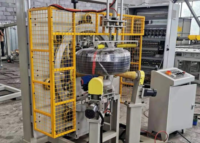 reel and coil stretch wrap machine