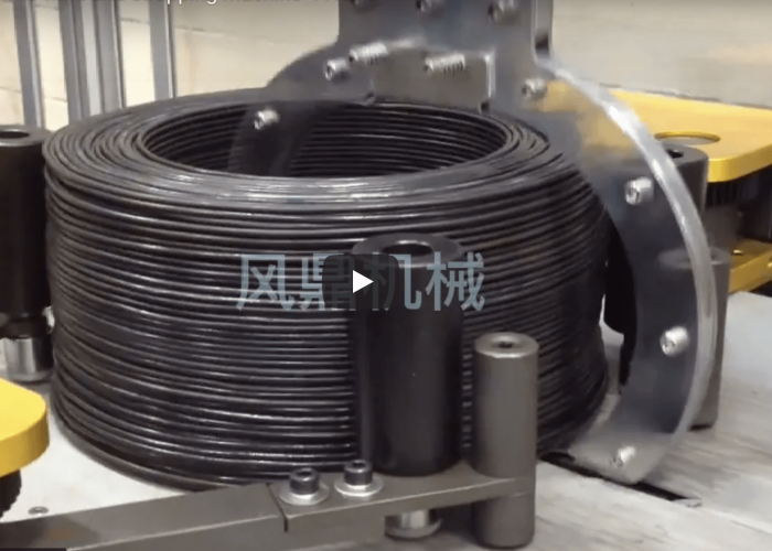steel wire coiling machine-min