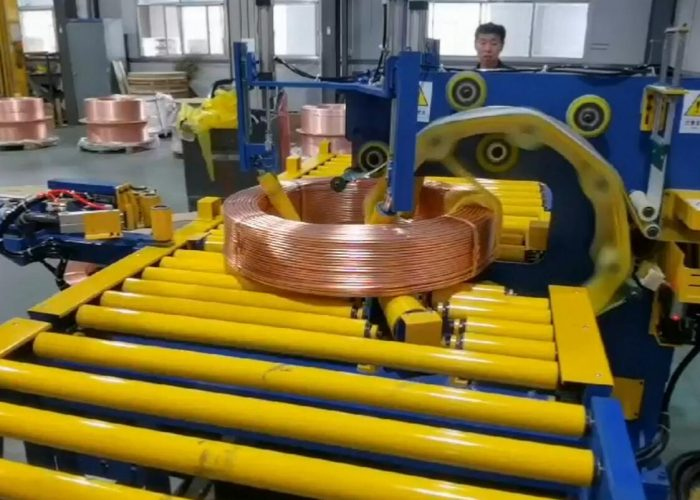copper tube Tapping machine
