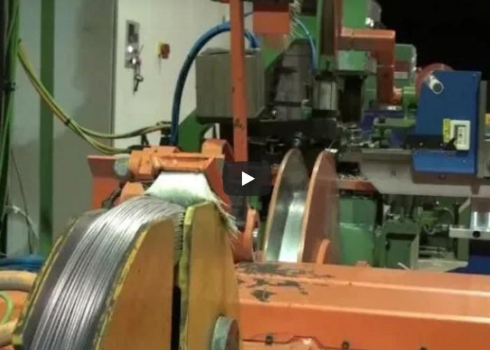 wire coil winding machine