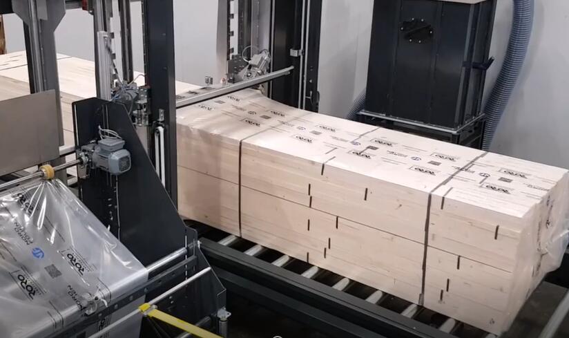 board packing machine