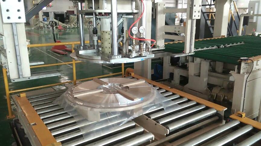 自動鉄鋼コイル包装線