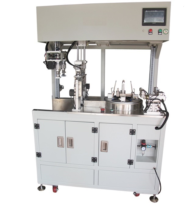 Automatic coiling and strapping machine