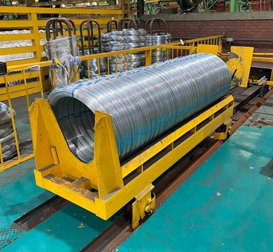 automatic wire winding and strapping machine